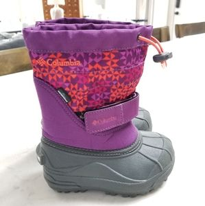 COLUMBIA SNOW WINTER BOOT POWDERBUG INSULATED